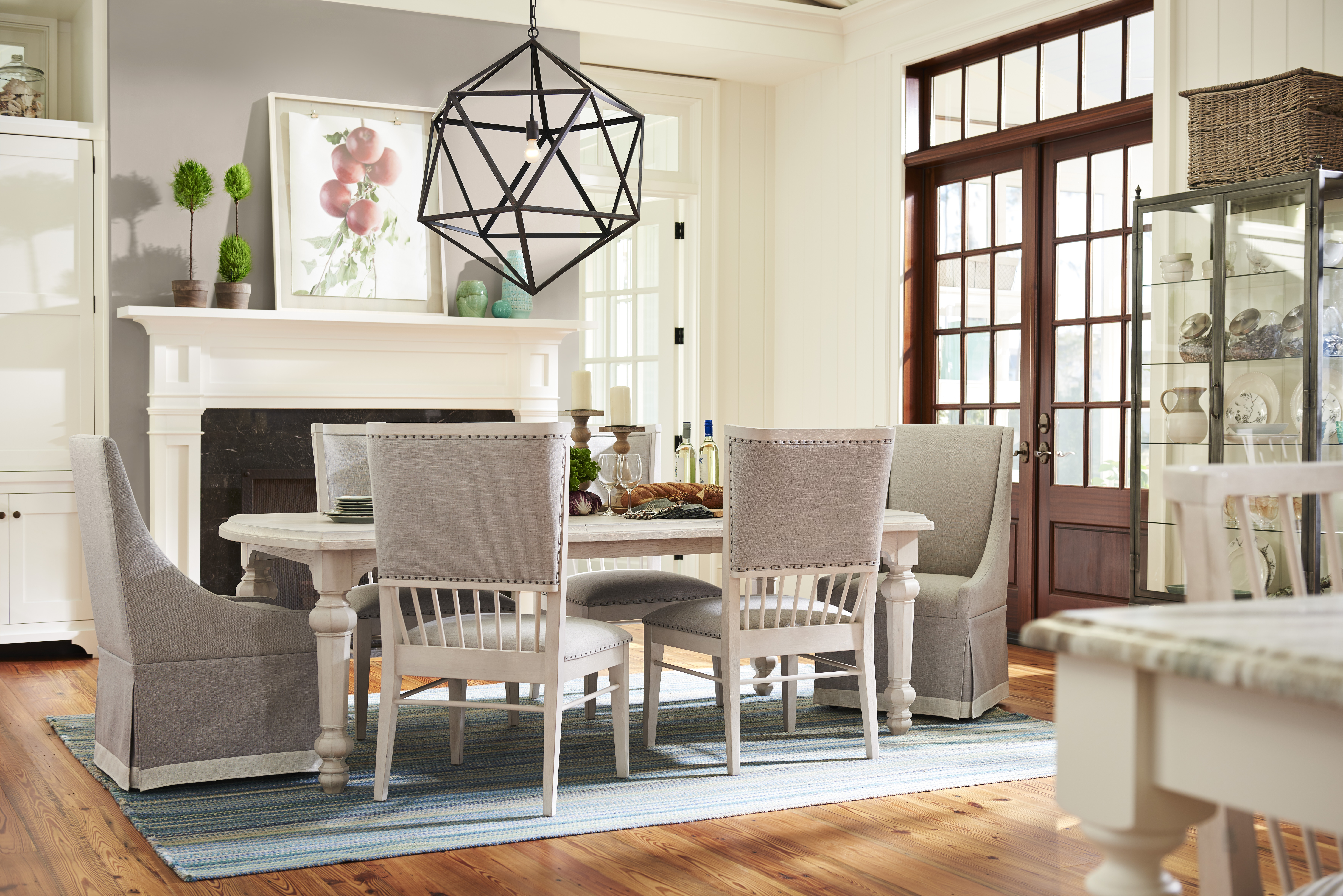 Paula Deen Home Bungalow Collection Paula Deen Home Bungalow 7 Piece Dining  Table Set