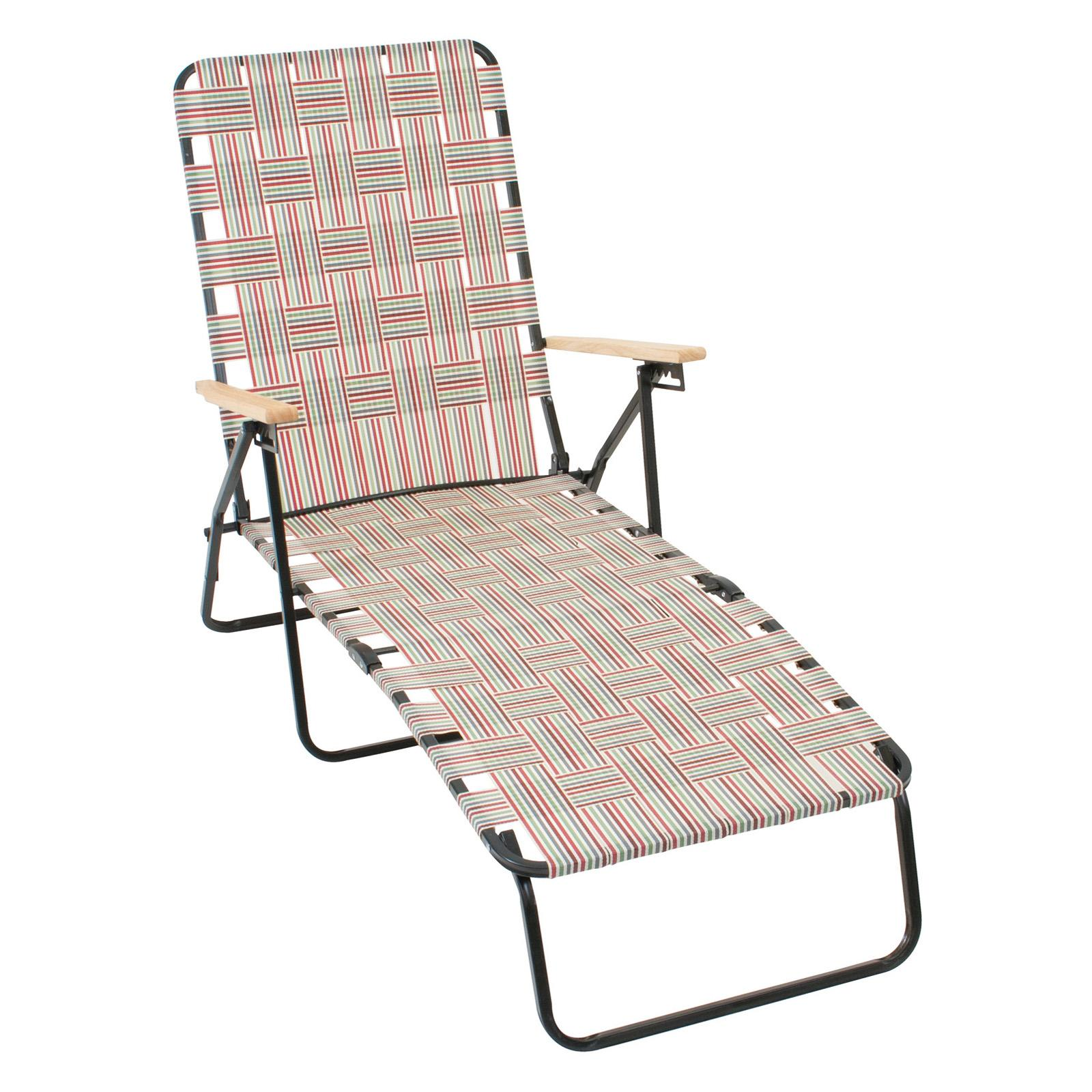 Rio Brands Rio Deluxe Folding Web Chaise Lounge Chair Ebay