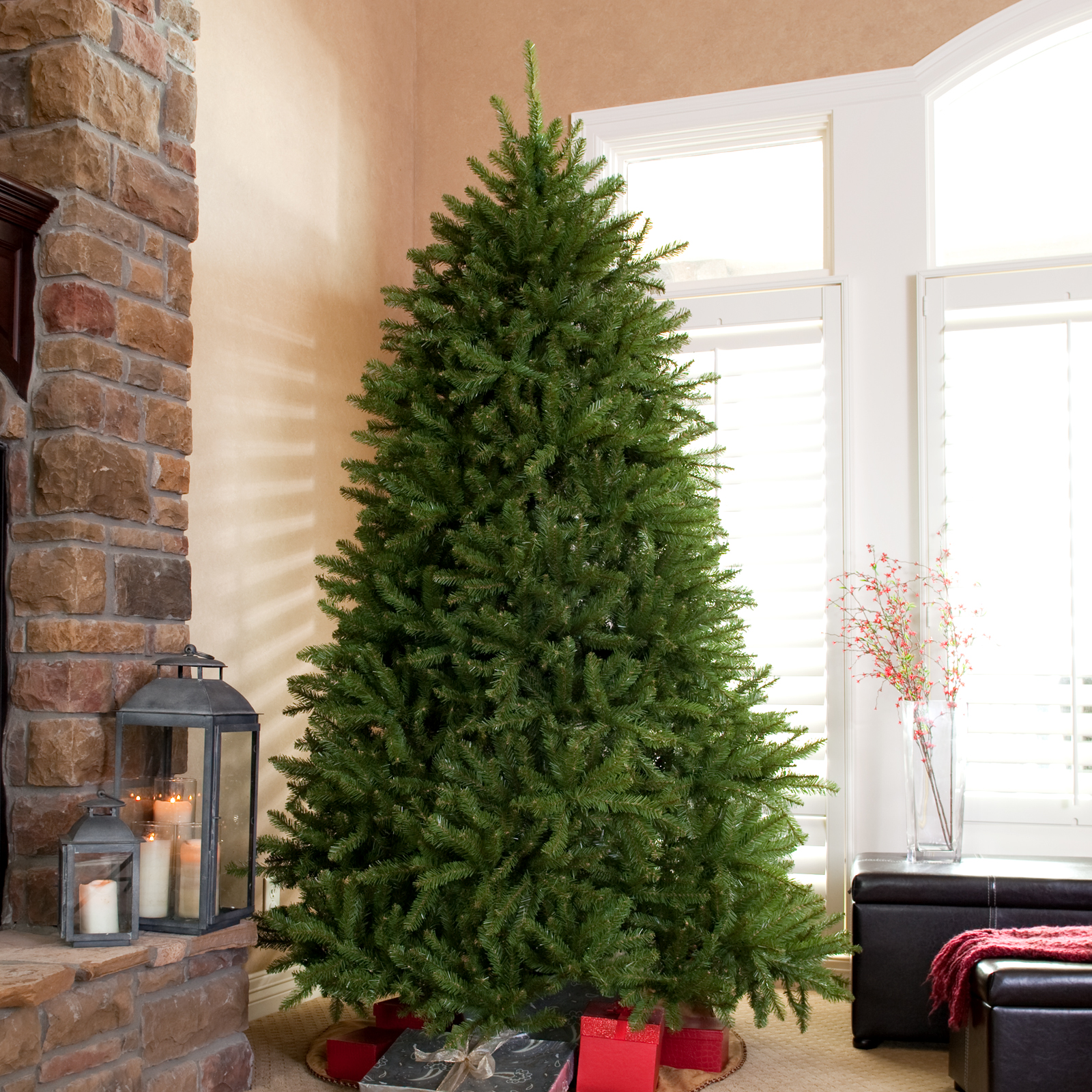 dunhill fir full unlit christmas tree hayneedle - National Christmas Tree Company