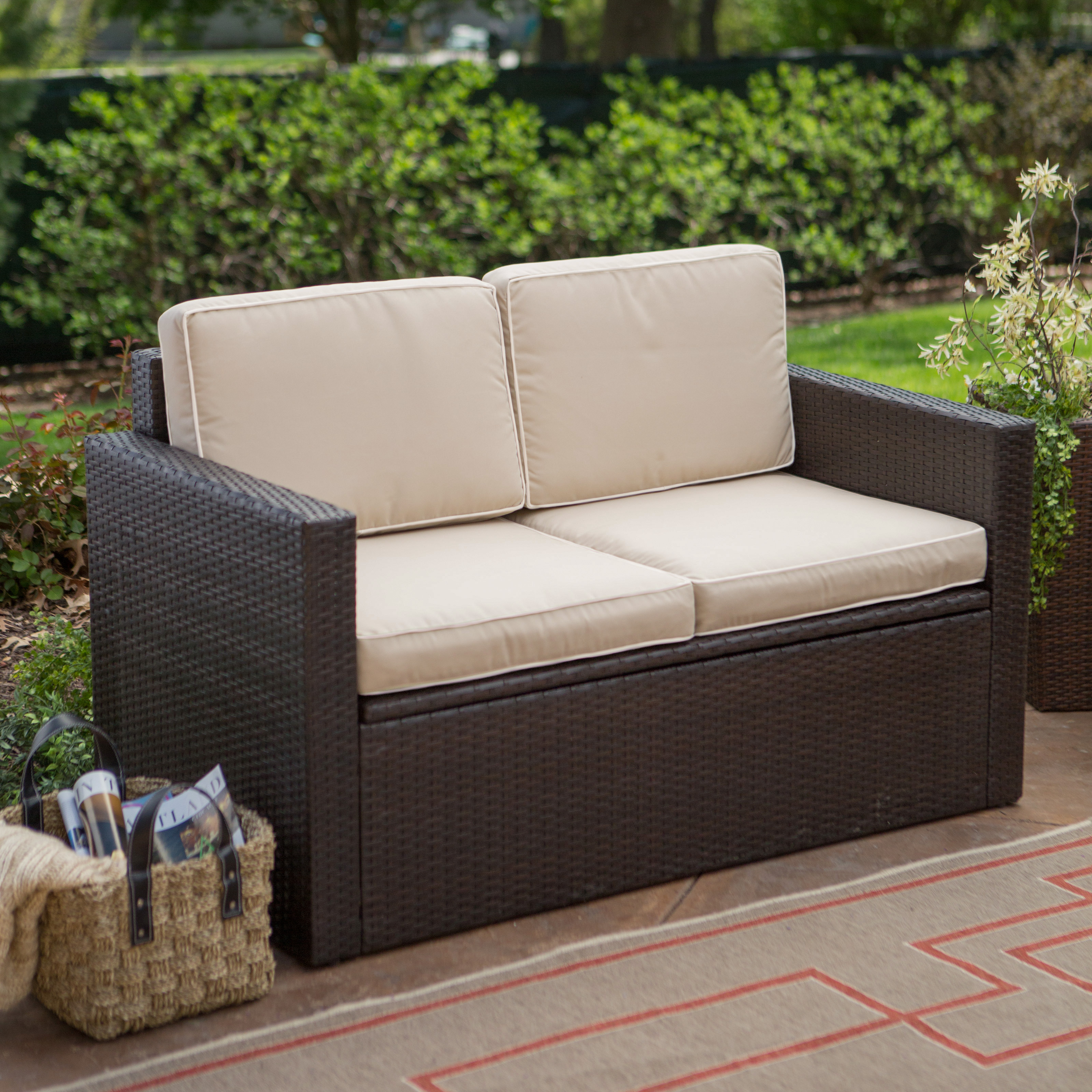 Lovely Patio Furniture with Storage