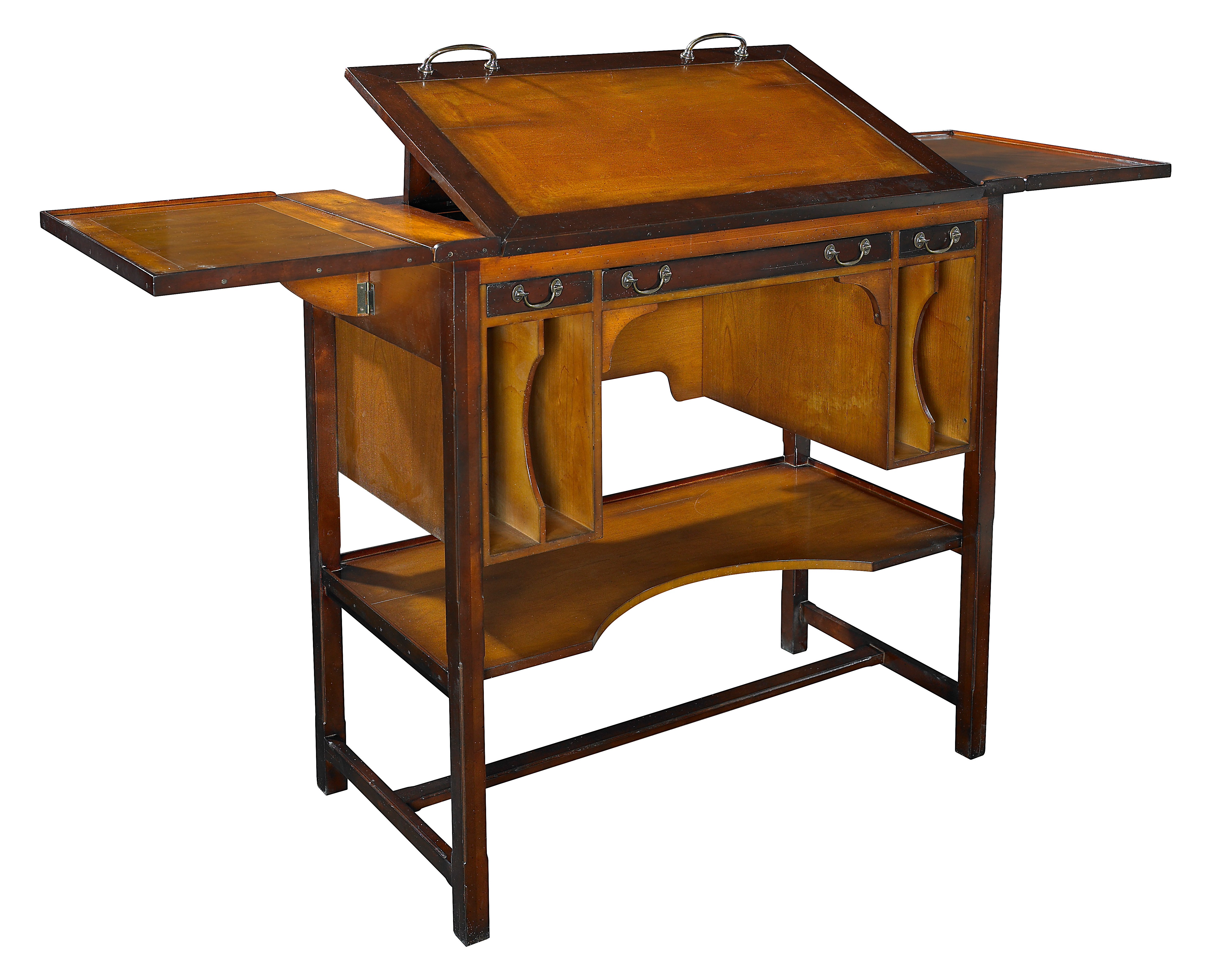 Authentic Models Tall Bureau Architect Drafting Table