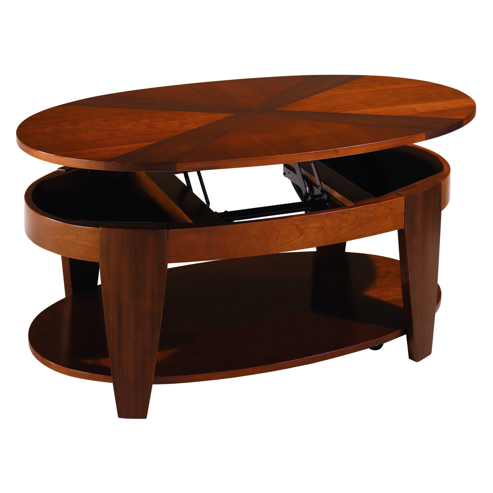 Hammary Oasis 2 Piece Oval Coffee Table Set