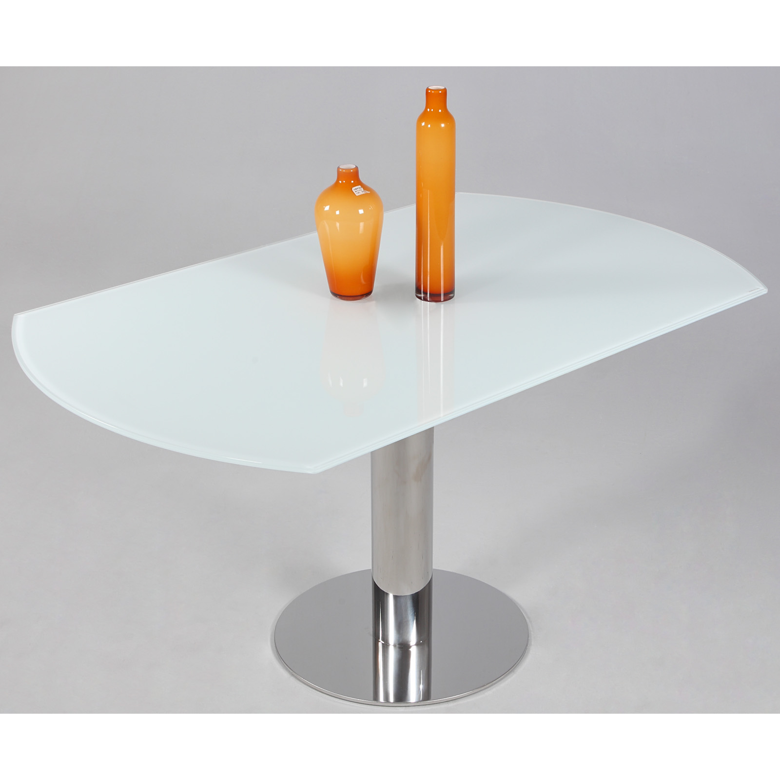 chintaly tami extendable dining table hayneedle - White Glass Extending Dining Table