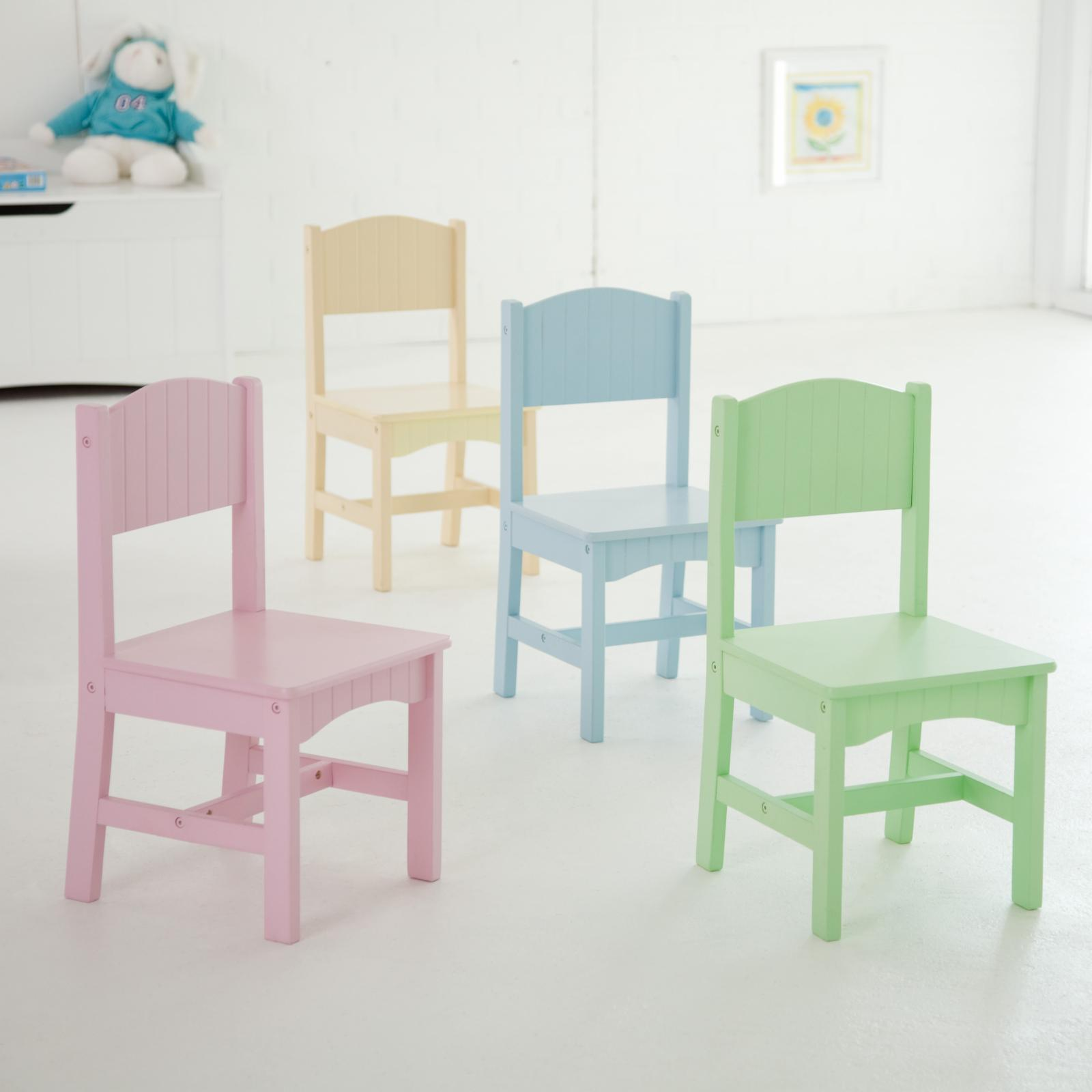 Kidkraft nantucket pastel table and chair set