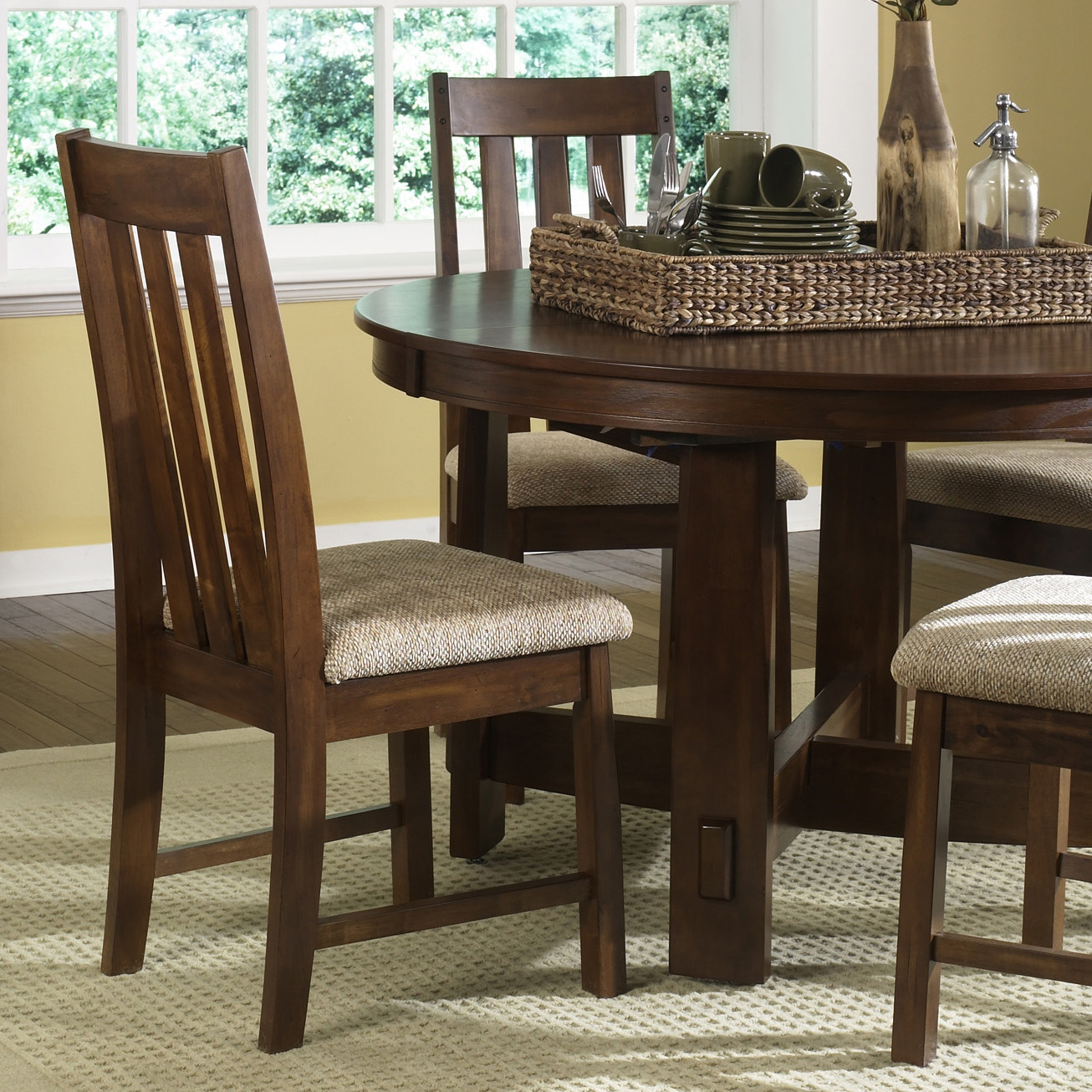 Kitchen Booth Furniture Liberty Urban Mission 5 Pc Dining Set Hayneedle