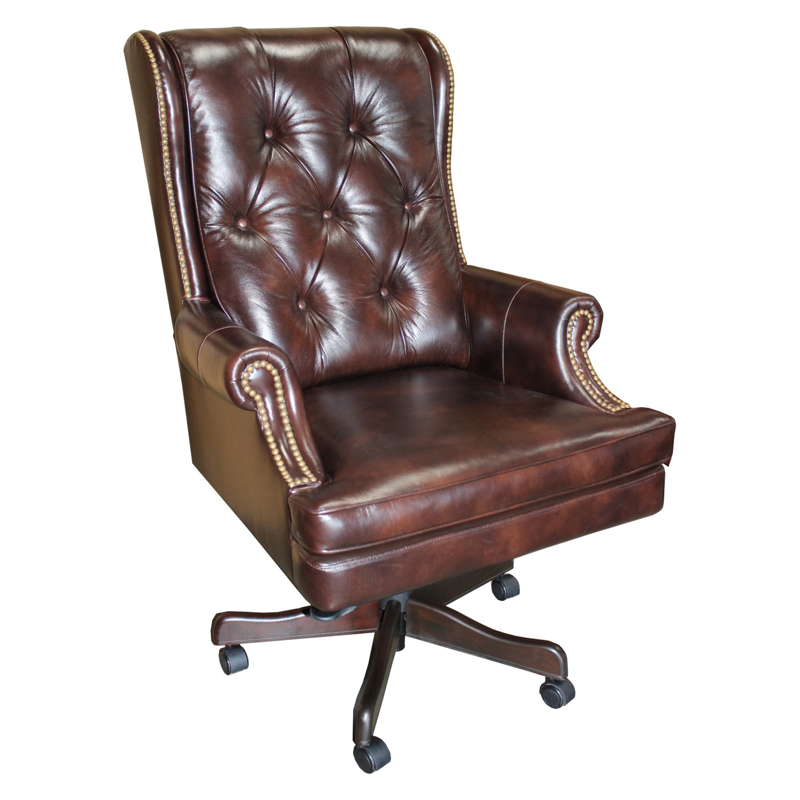 Parker House Prestige DC 112 Leather Desk Chair