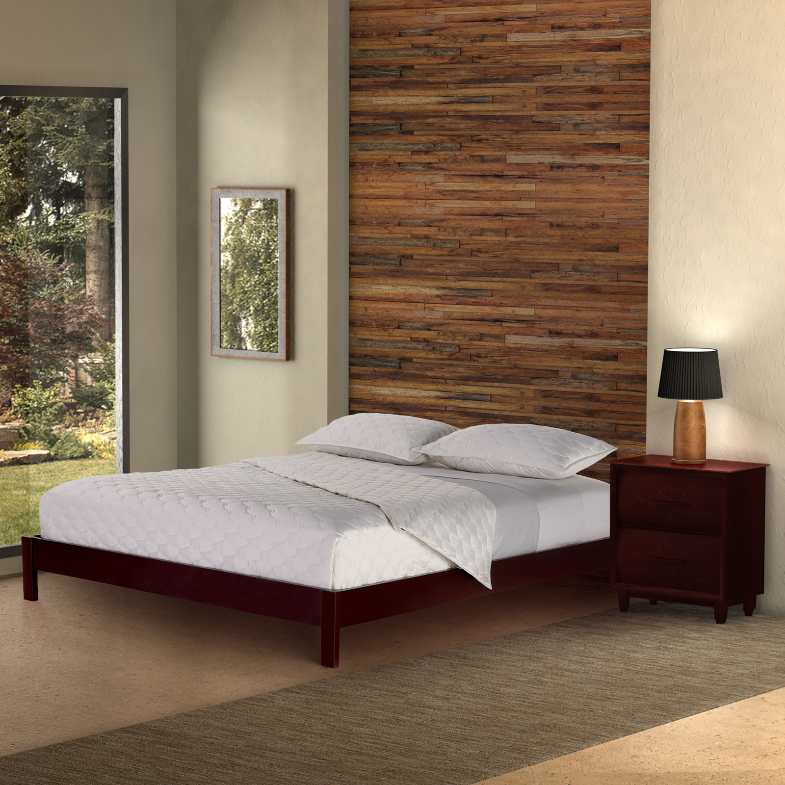 Fashion Bedroom Furniture Unique Fashion Bed Group Murray Platform Bed  Hayneedle Inspiration