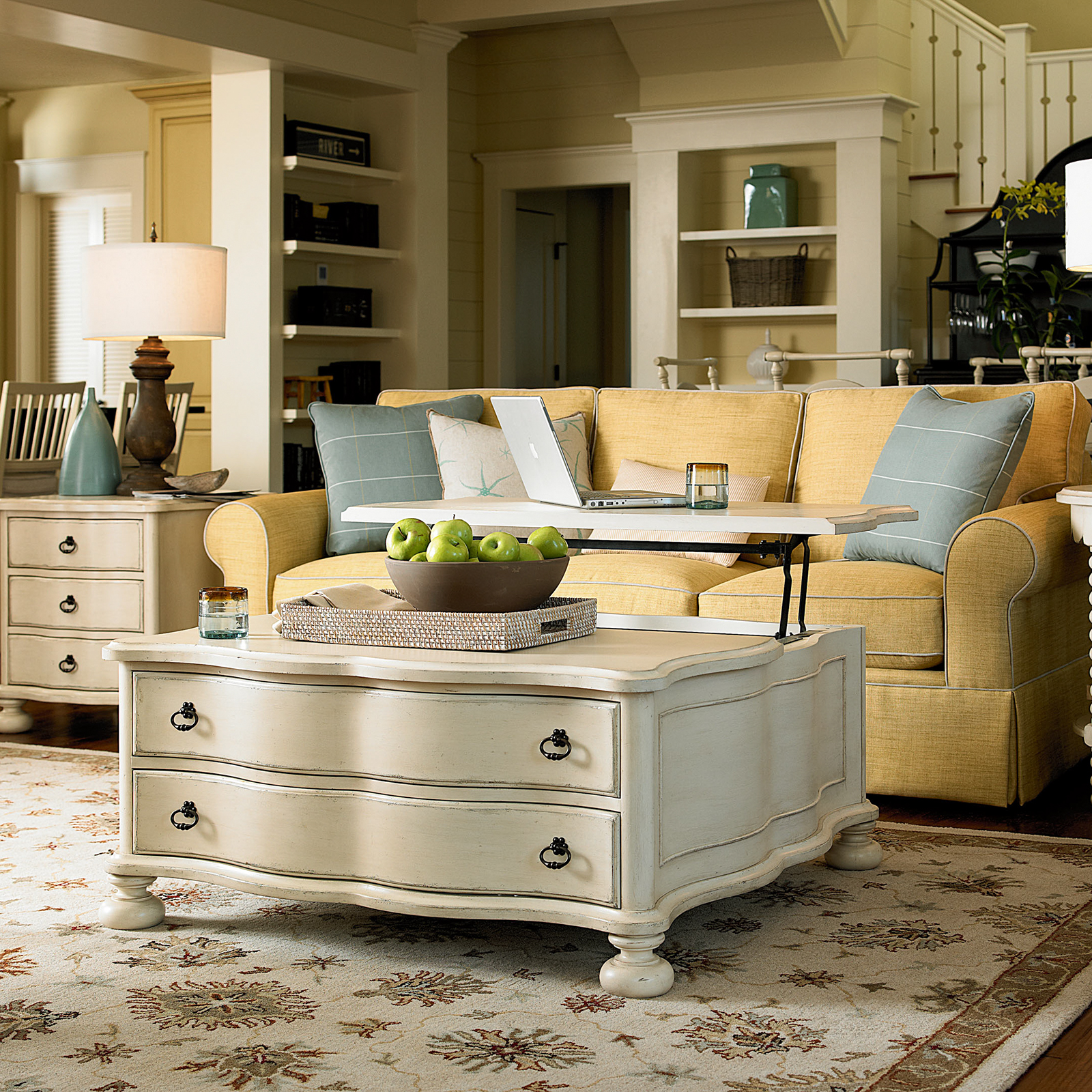 Paula Deen Home River House The Family Room Coffee Table River