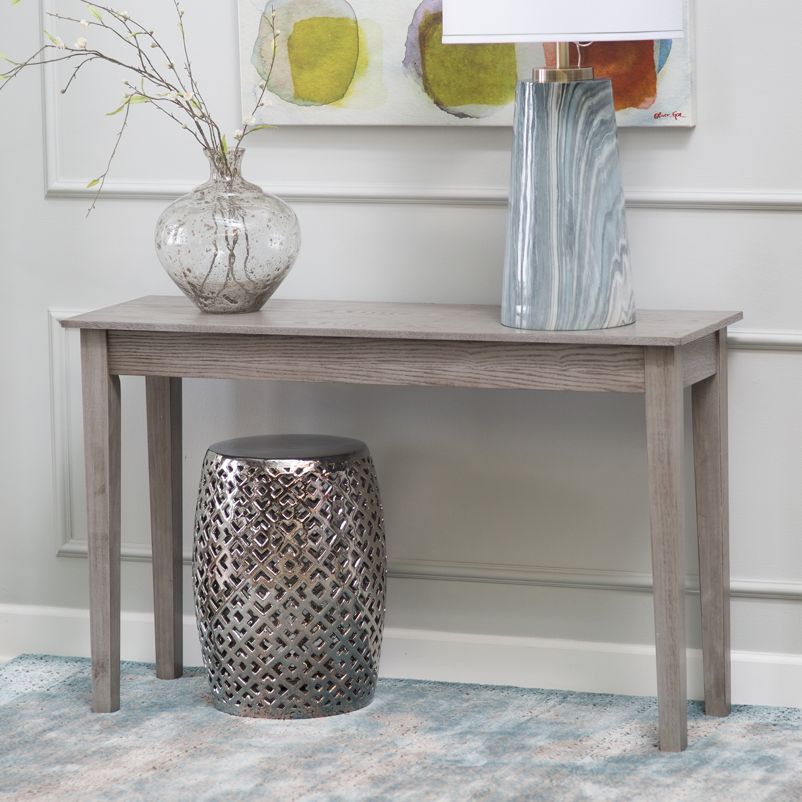Delightful Finley Home Turner Console Table