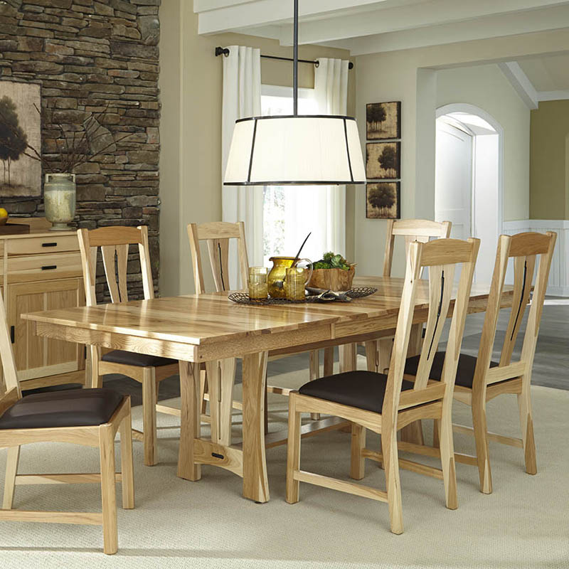 A America Toluca Rectangular Extension Dining Table