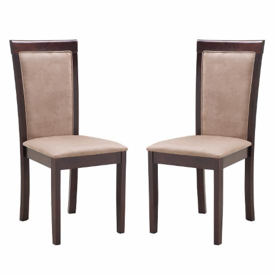 Abbyson Montego Upholstered Dining Chair - Set of 2