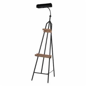 A and B Home Auden Easel with Lamp