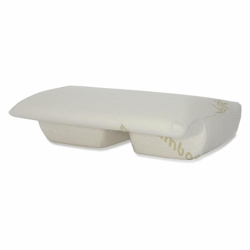 Better Sleep Pillow Memory Foam Arm Under Bed Pillow Cover - BSP-1CV-BMB