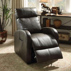 Acme Furniture Faux Leather Power Lift Recliner