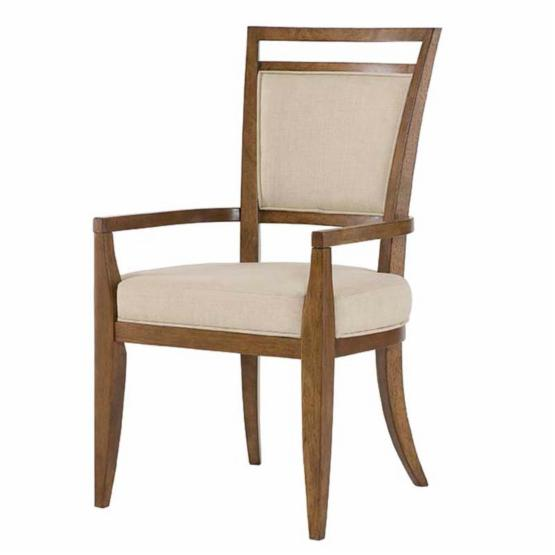 American Drew Grove Point Upholstered Back Arm Chair - Set of 2