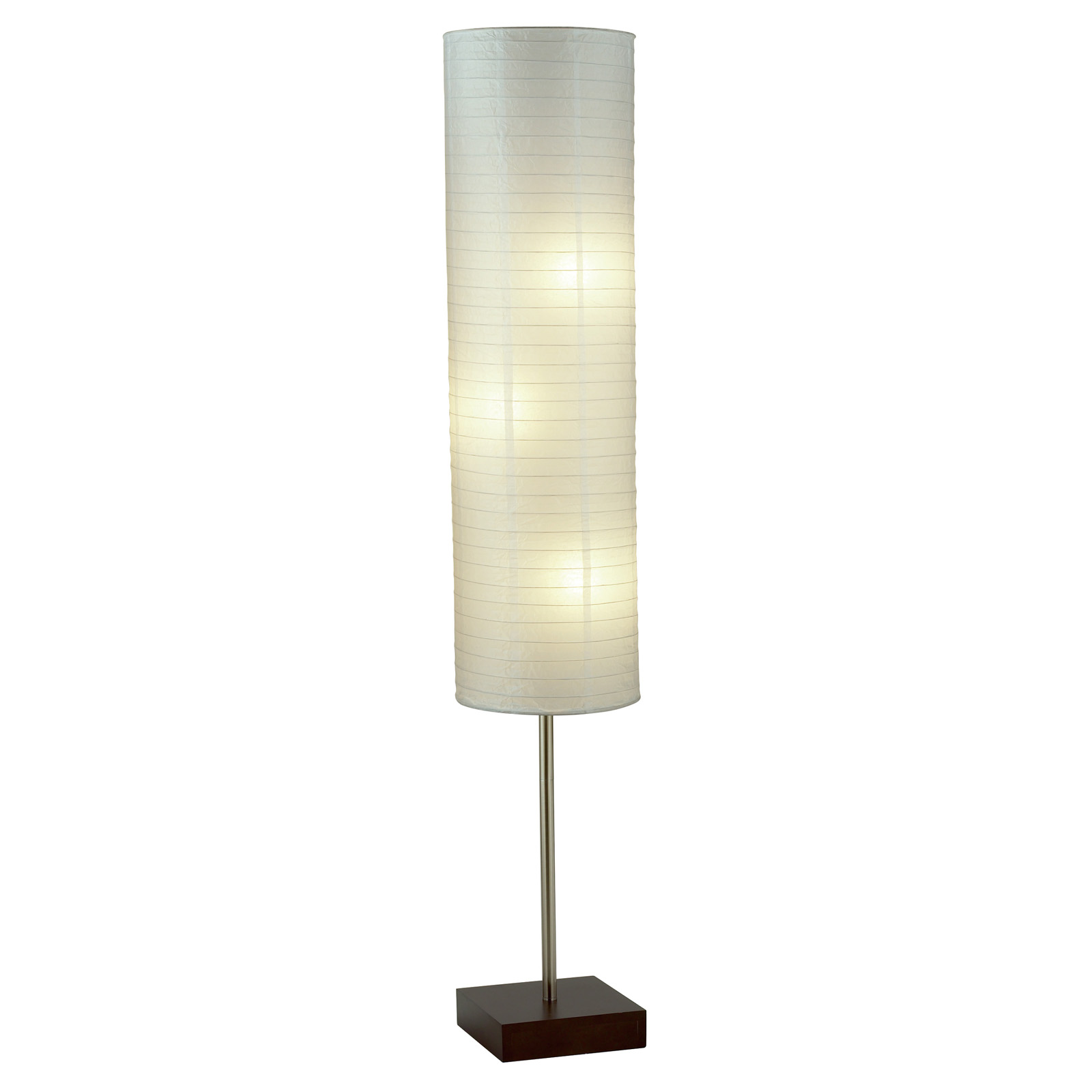 Mainstays rice paper floor lamp hayneedle mozeypictures Image collections