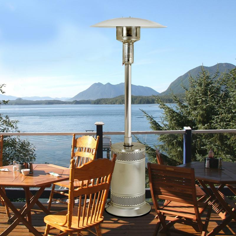 Patio Comfort Stainless Steel Portable Patio Heater - PC02SS