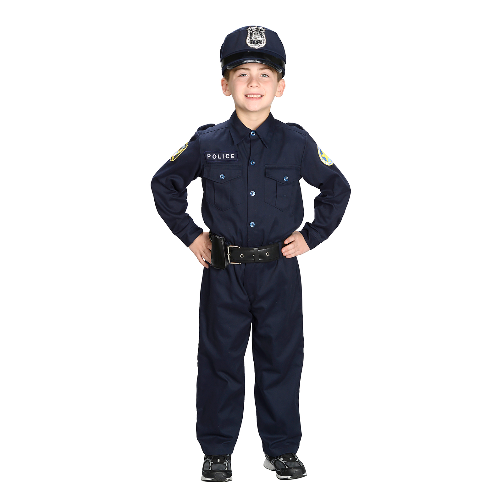 Aeromax Jr. Police Officer Suit Costume ...  sc 1 st  Nextag & Kids police officer costume | Compare Prices at Nextag