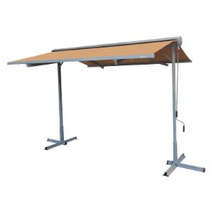 Advaning 10 ft. Free Standing Retractable Patio Awning