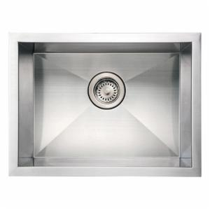 Whitehaus Noahs Collection 20 in. Commercial Single Bowl Undermount Sink