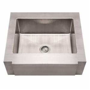 Whitehaus Noahs Collection 30 in. Commercial Single Bowl Sink