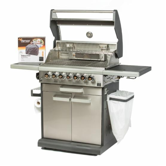 Fervor Icon 455S Stainless Steel 4 Burner Gas Grill