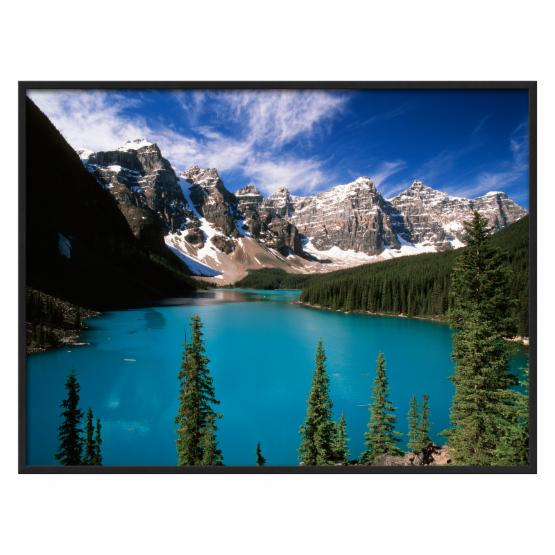 Art.com Wenkchemna Peaks Reflected in Moraine Lake Banff National Park Wall Art