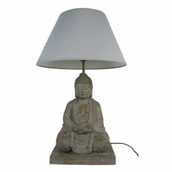 Simple Designs Buddha Table Lamp - 24H in.