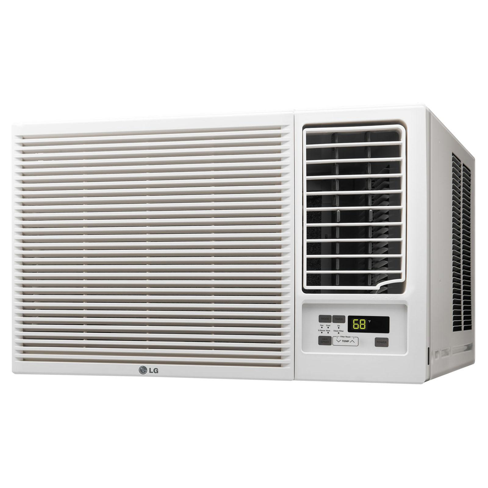 LG 23000 BTU 230V Window-Mounted Air Conditioner with 116...