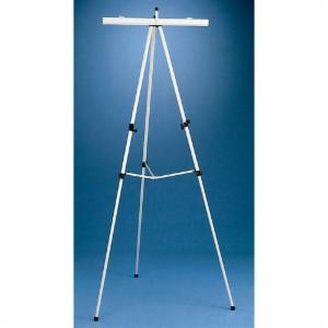 ALVIN® Aluminum Easel with Flipchart  Holder