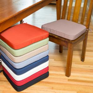 dining chair cushions on hayneedle - chair cushions for dining