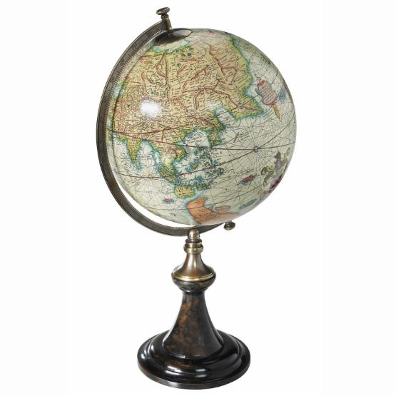 Authentic Models Savoy Mercator 12-Inch Diameter Tabletop Globe