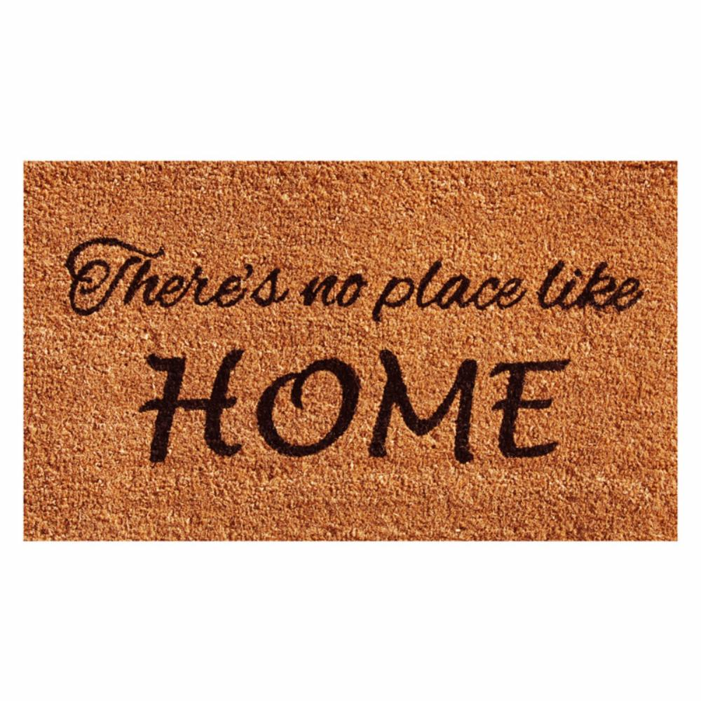 Home & More No Place Like Home Outdoor Door Mat