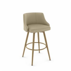 Amisco Duncan 28-in. Metal Swivel Counter Stool