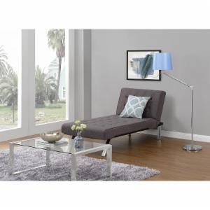DHP Emily Upholstered Chaise Lounge