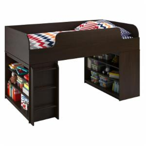 Cosco Elements Loft Bed with 2 Bookcases