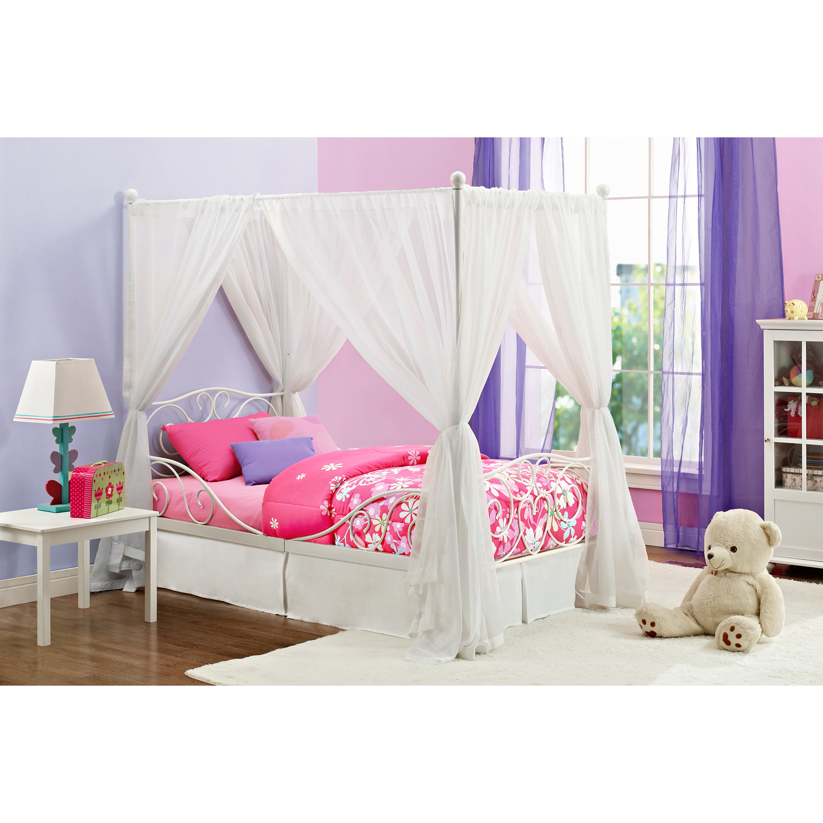 DHP Twin Canopy Bed  sc 1 st  Hayneedle & Kids Canopy Beds | Hayneedle