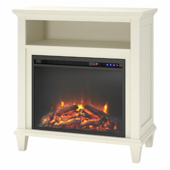 Altra Ellington 32 in. TV Stand with Electric Fireplace
