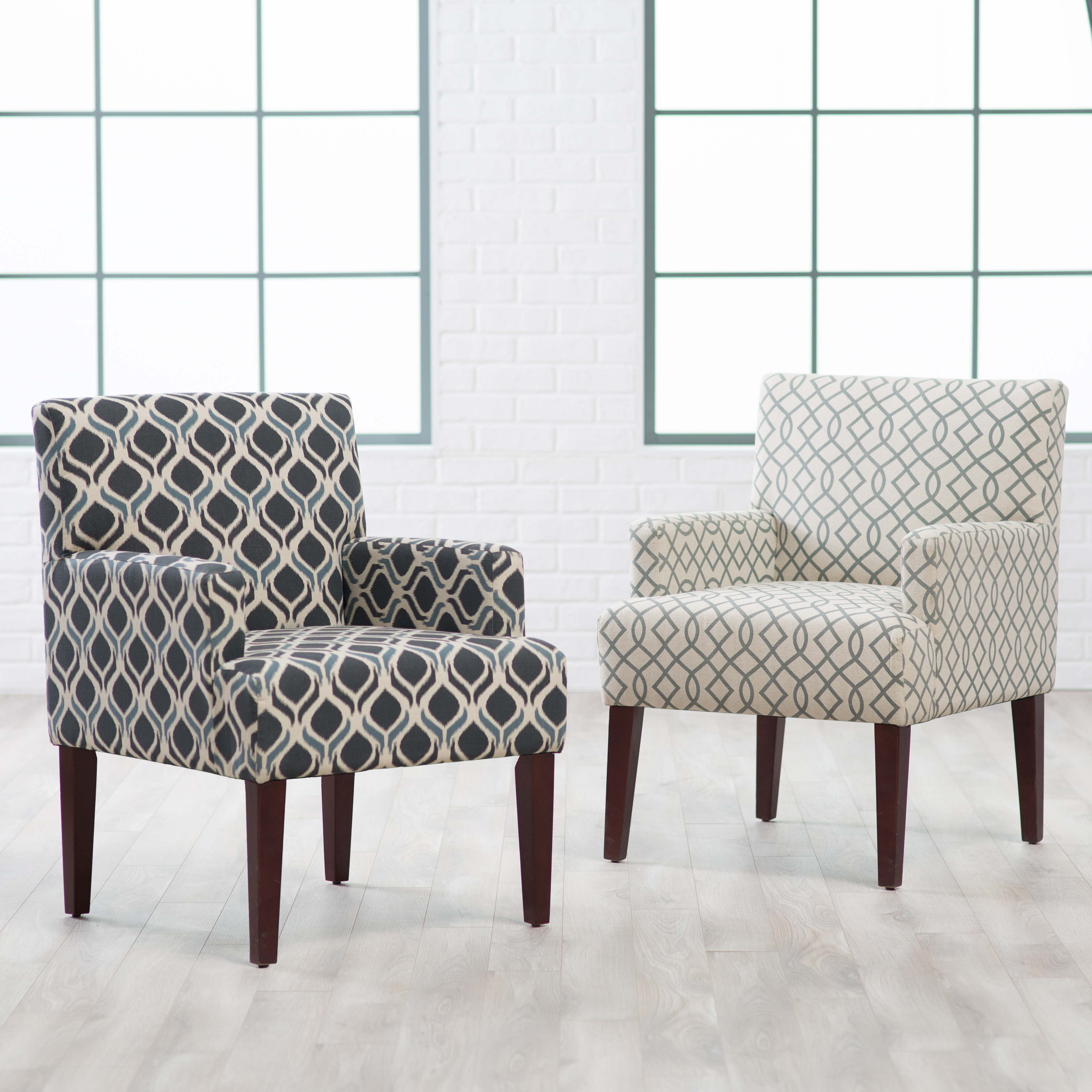 Charming Belham Living Geo Accent Chair With Arms Accent Chairs At Hayneedle. Accent  Chairs With Arms