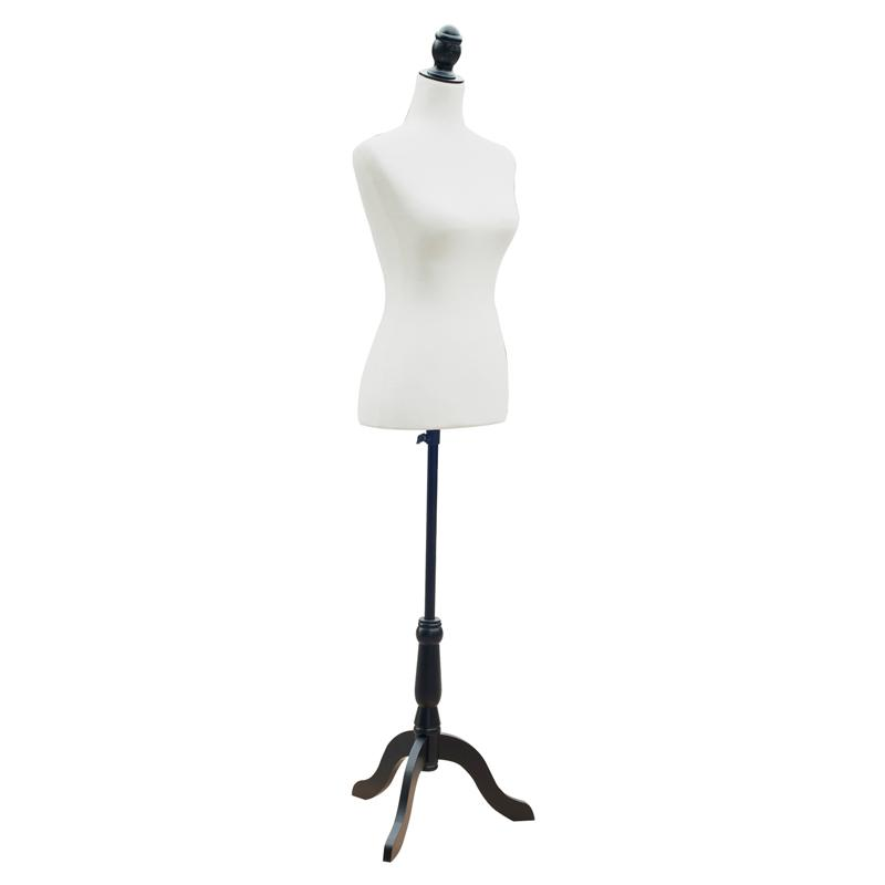HomCom Fashion Mannequin Female Dressform with Base - 611...