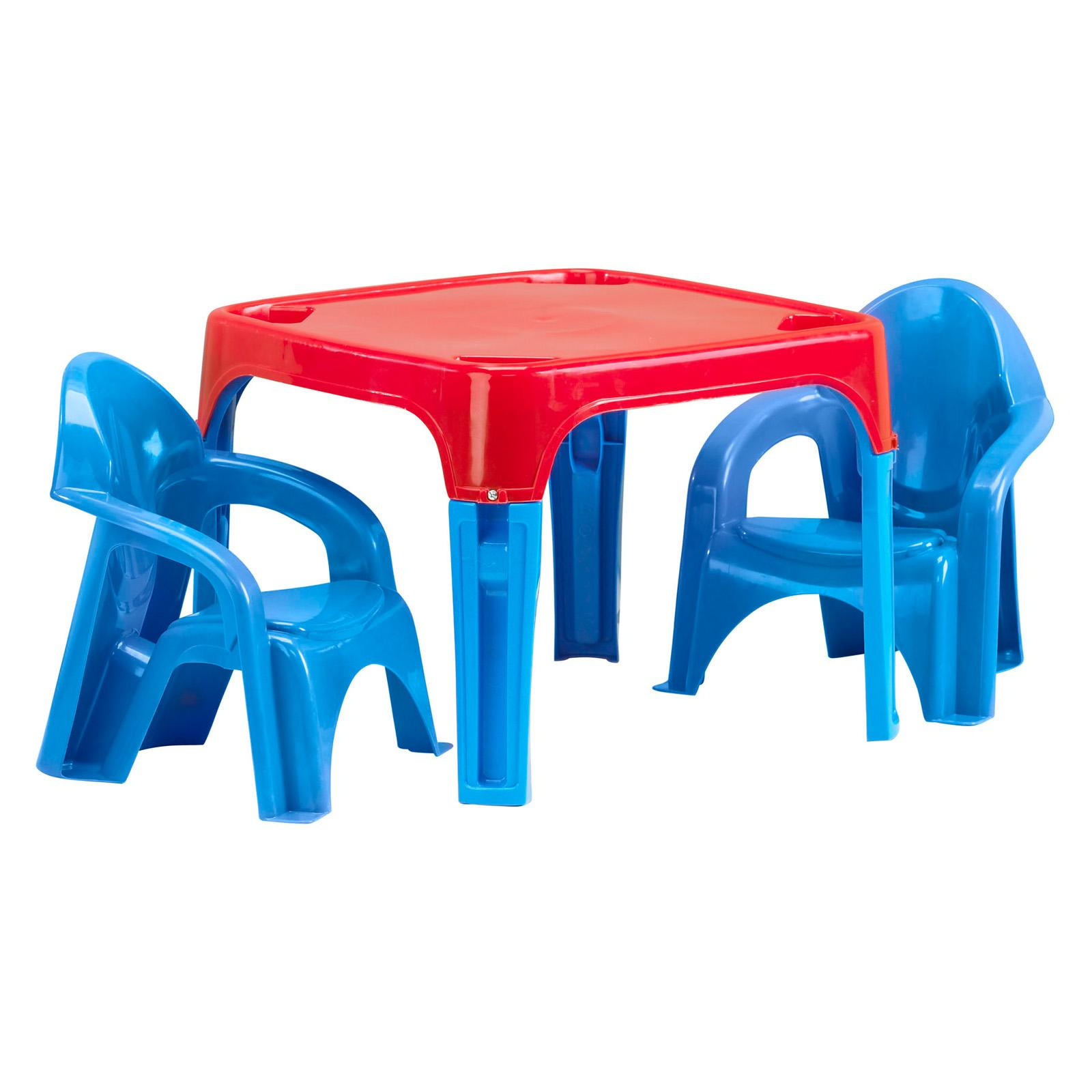 American Plastic Toys Kids Table & Chair Set - 13650