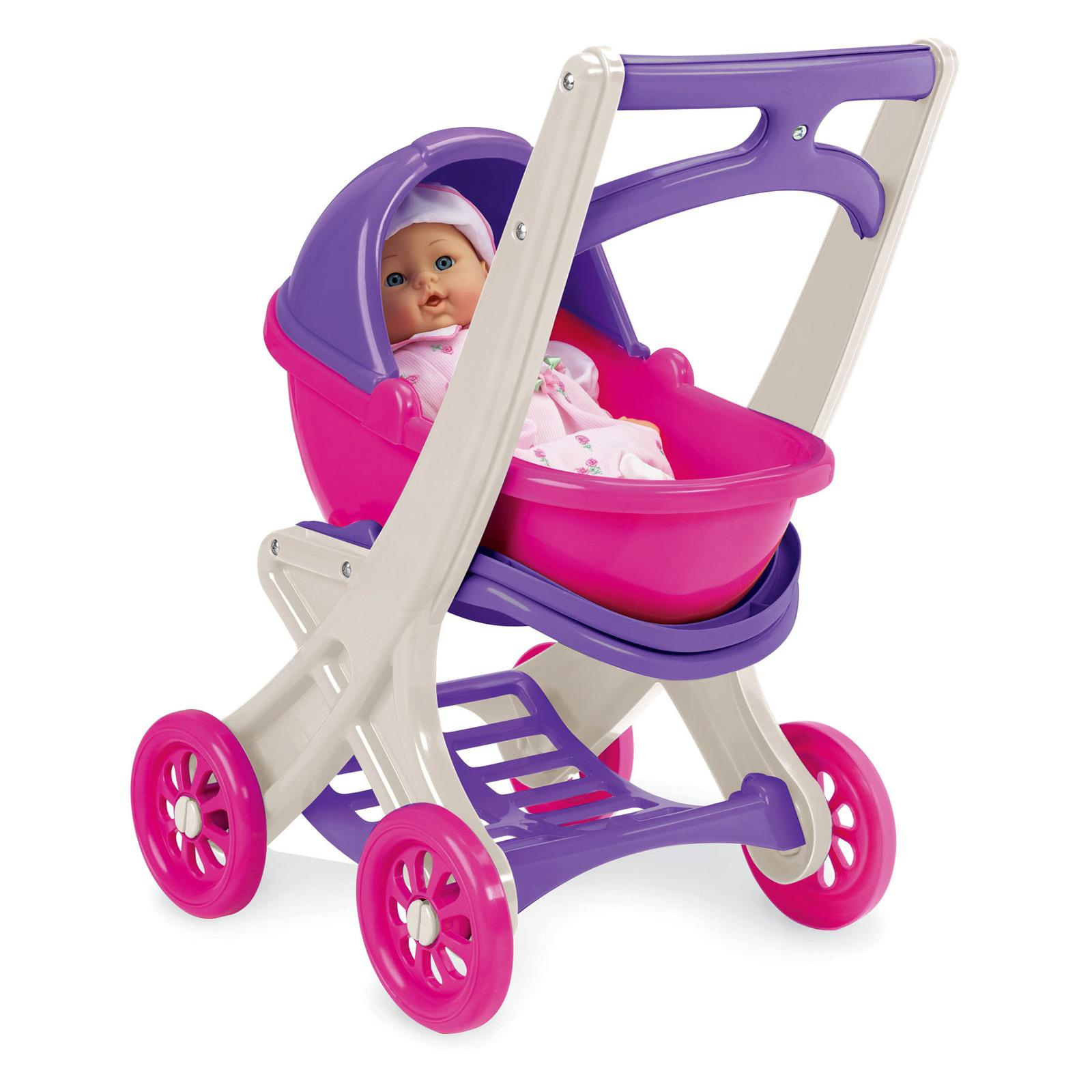 American Plastic Toys On the Go Doll Stroller - 20250