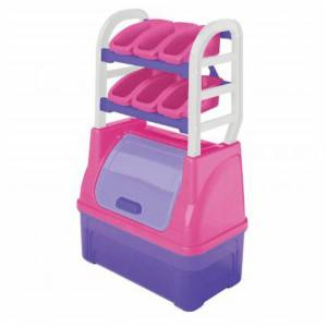 American Plastic Toys Toy Organizer - Pink/Purple