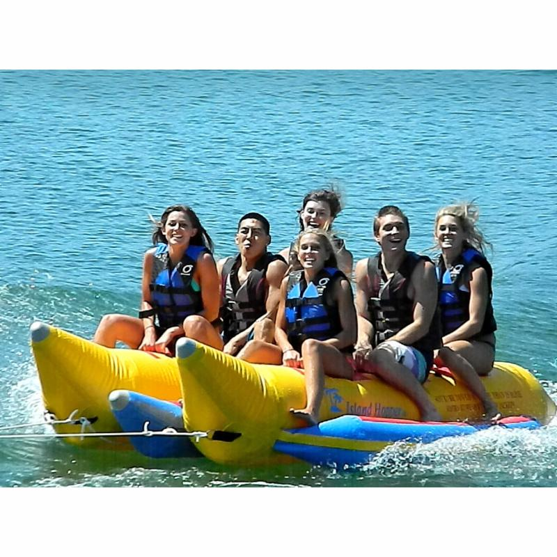 Island Hopper Commercial Side-To-Side Elite Class Banana Boat - 6 Person - PVC-6-SBS