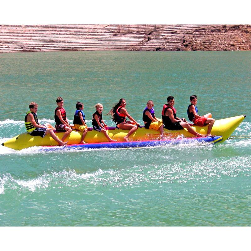 Island Hopper Commercial In-Line Elite Class Banana Boat - 8 Person - PVC-8-INLINE