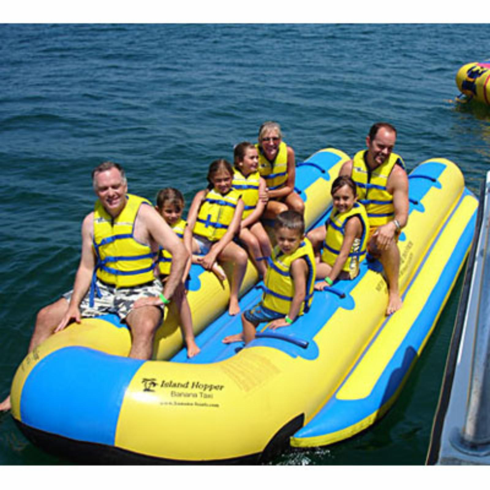 Island Hopper Side-To-Side Elite Class Banana Taxi - 12 Person - BT-12