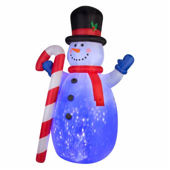 Airblown Inflatables Projection Kaleidoscope Snowman Inflatable