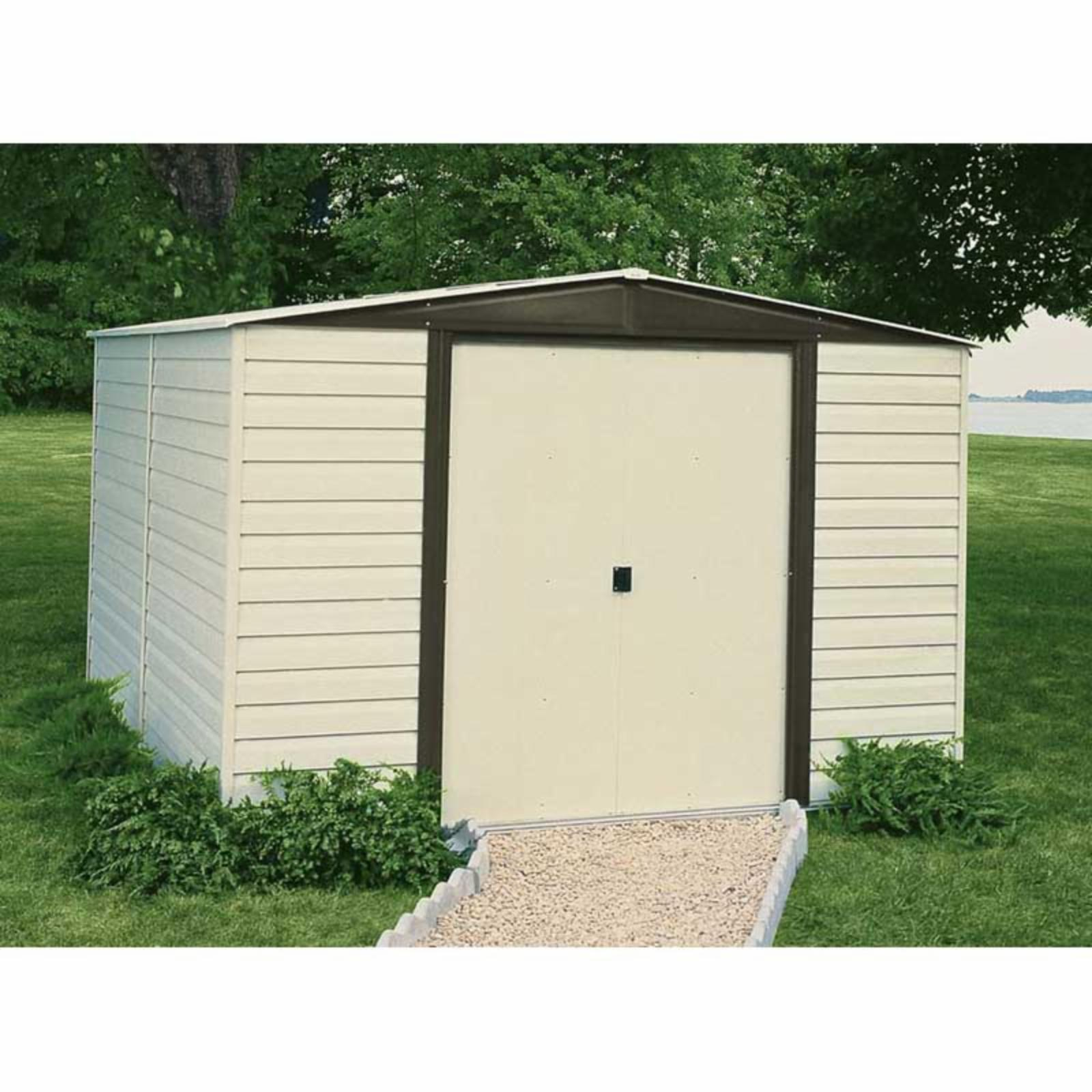 Arrow Shed Vinyl Dallas 10 x 8 ft. Shed - VD108