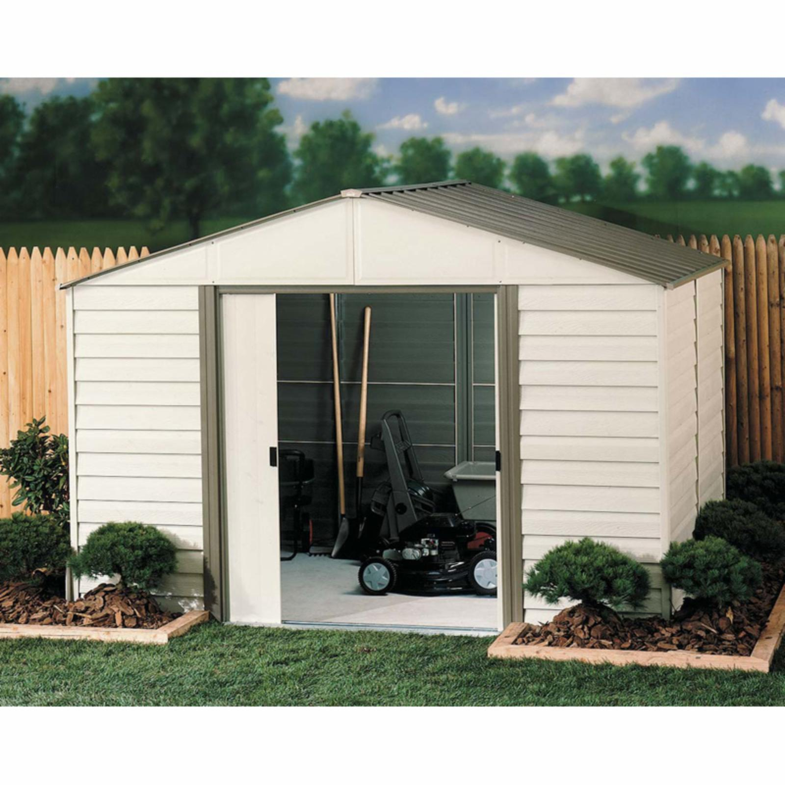 Arrow Shed Vinyl Milford 10 x 12 ft. Shed - VM1012