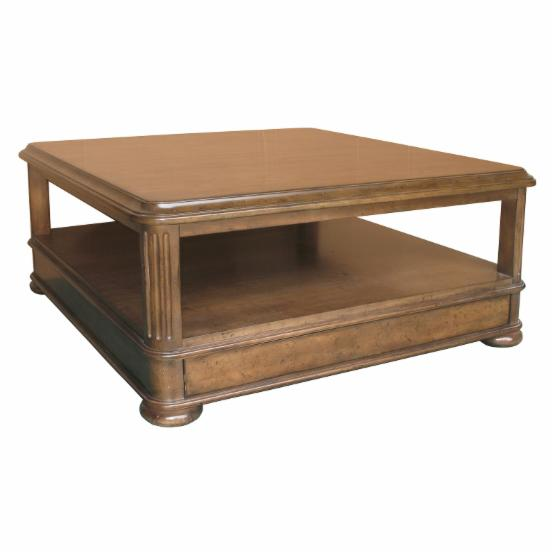 A.R.T. Furniture Costwold Square Coffee Table - Cognac